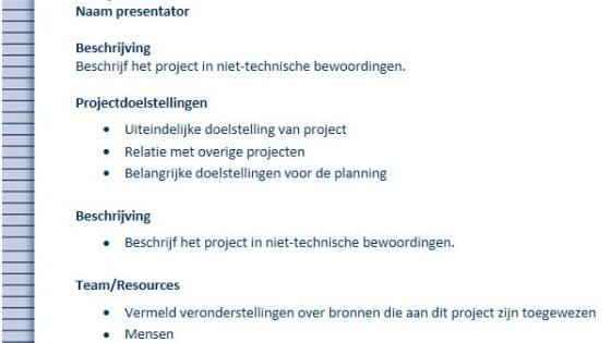Projectenoverzicht in OneNote_Haal meer uit Offce