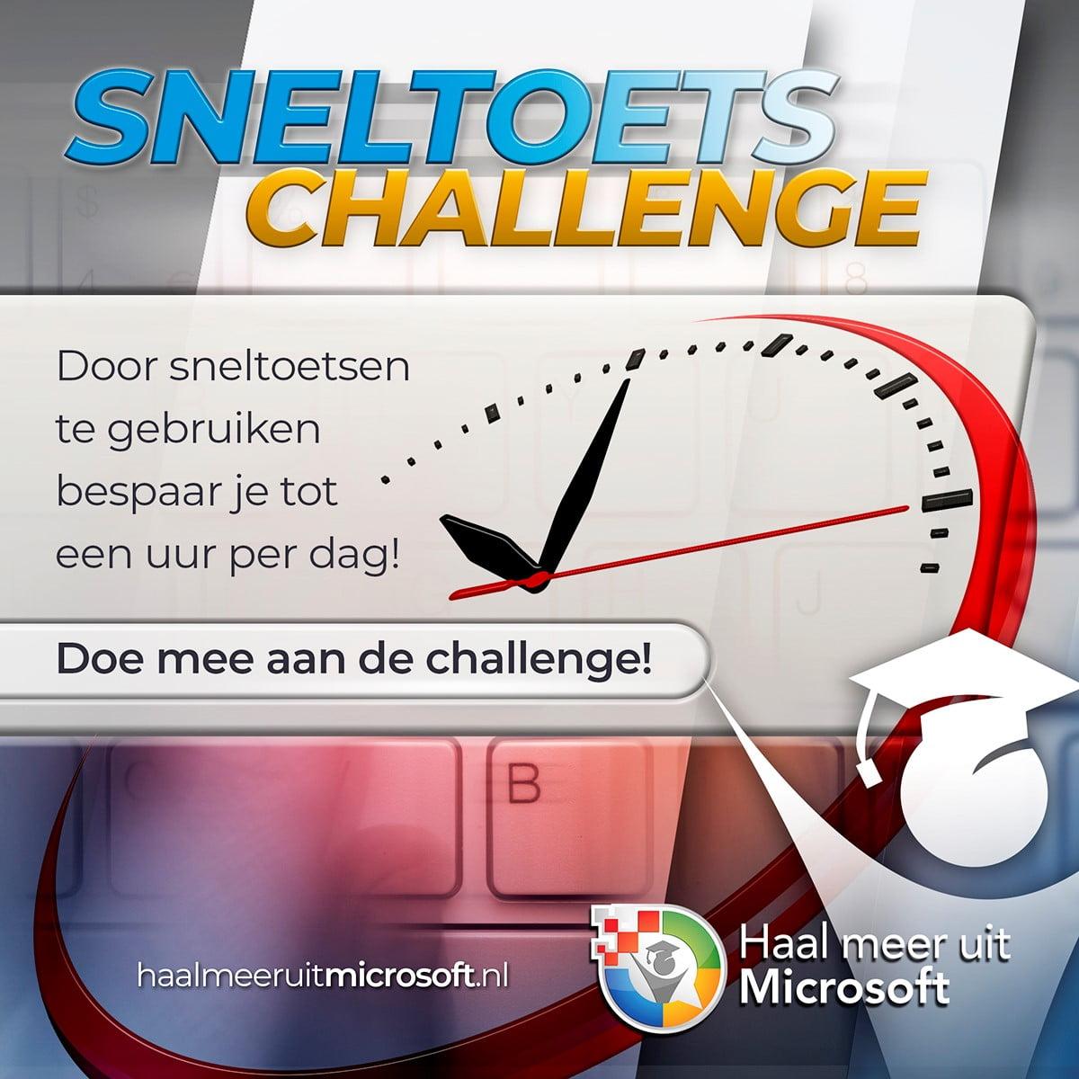 Sneltoetsen-challenge
