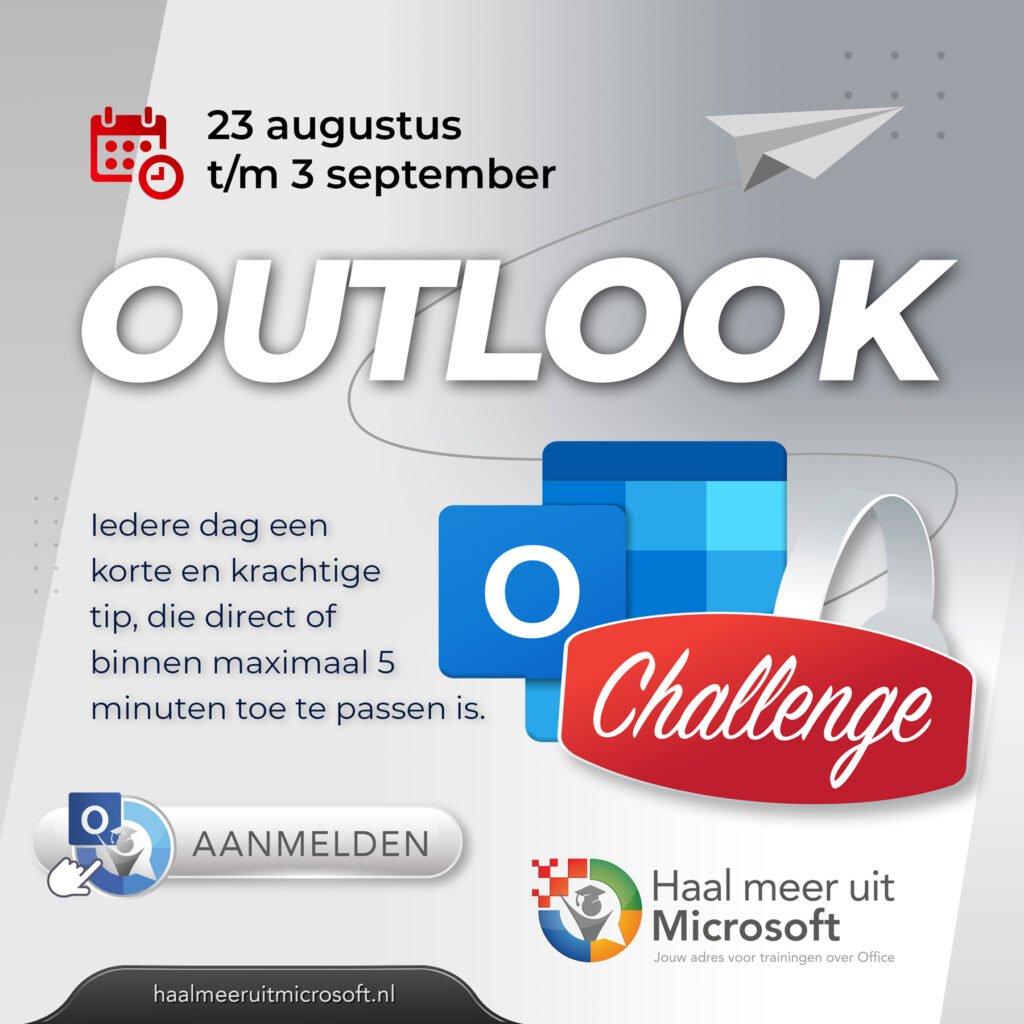 Challenge Haal meer uit Outlook
